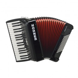 Hohner The New Bravo III 72 black аккордеон 3/4