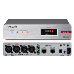 Tascam MM-2D-X Dante-Analogue конвертор с DSP