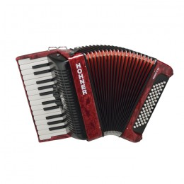 Hohner The New Bravo II 60 (A16971) Red Аккордеон 1/2